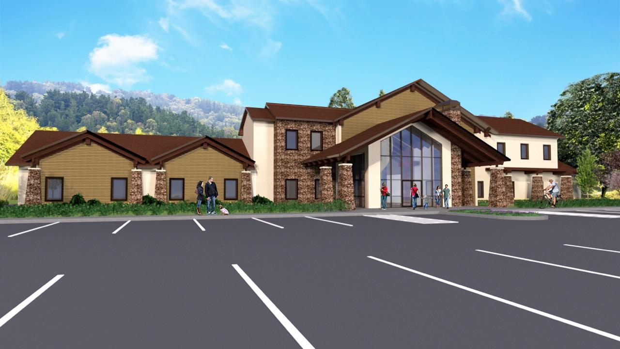 First Contact's Life Enhancement Center Proposed Rehabilitation Facility in Hendersonville, NC