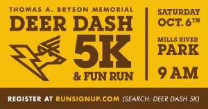 Thomas A. Bryson Memorial 5K Deer Dash