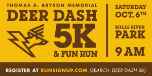 Thomas A. Bryson Memorial 5K Deer Dash