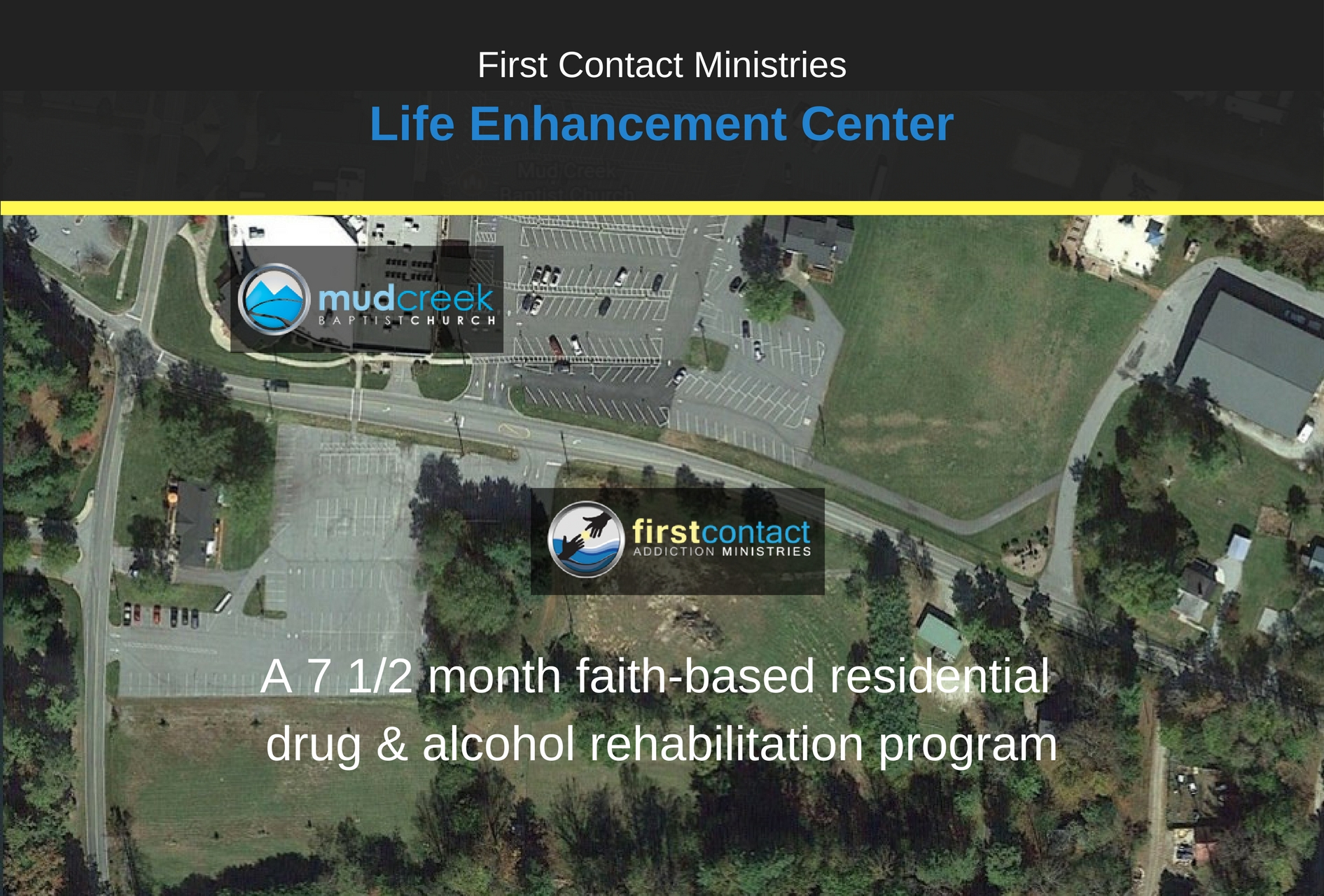 First Contact Ministries Proposed Life Enhancement Center for Drug & Alcohol Rehabilitation in Hendersonville, NC