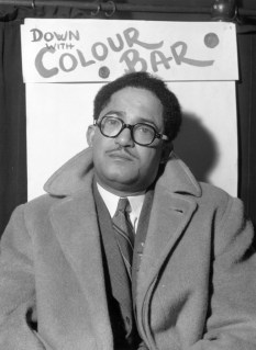 10th November 1945: E J Du Plau, a welfare worker from Liverpool attends the first Pan-African Congress in Manchester to discuss the effects of the 'colour bar'.