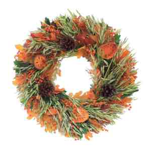 Tuscan Foliage Natural Wreath