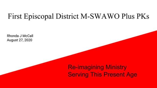 M-SWAWO Plus PKs Re-Imagining Ministry_ Aug 20th