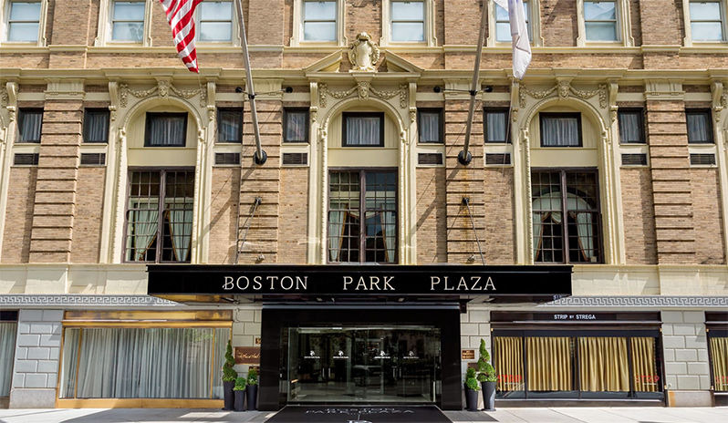 Boston Park Plaza Entrance