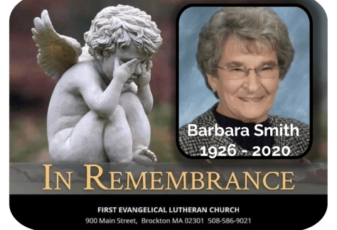 In Remembrance of Barbara L. (Marine) Smith