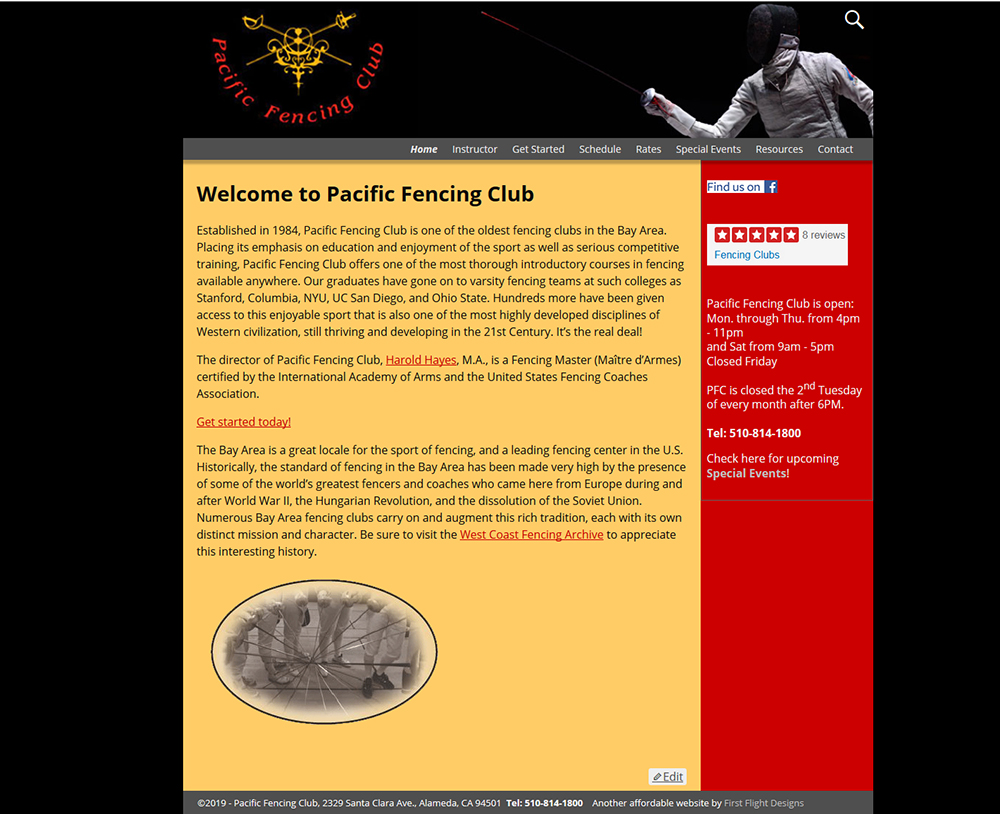 Pacific Fencing Club