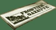 Frontier Gazette-Button
