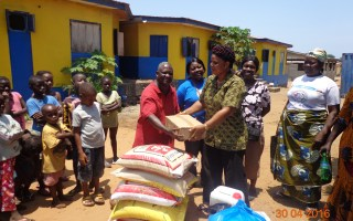 UMC Liberia Women Starts Mother's Day Month at Orphanage