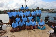 Methodist Church in Fiji President Sails on Traditional Voyaging Canoe – Reflects on Climate Change
