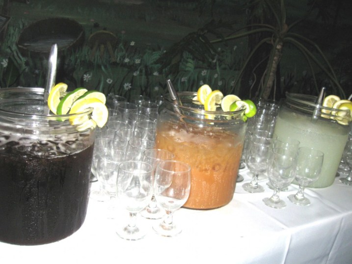 Fresh Squeezed Lemonade, St. Martin Punch, Sweet Peach Tea