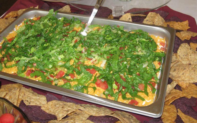 Seven Layer Mexican Dip