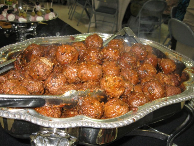 Herb Crusted BBQ Meatballs