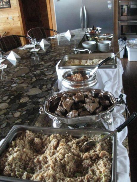 Kitchen Island Buffet