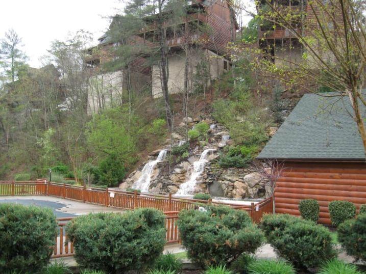 Waterfall Pool area