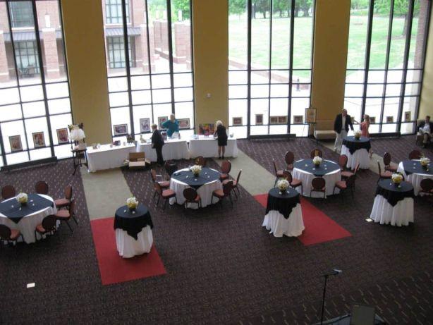 Clayton Center Grand Foyer