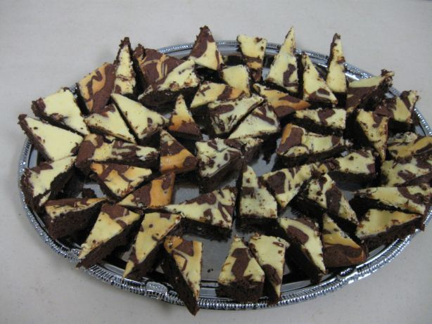 Marble Cream Cheese Brownies