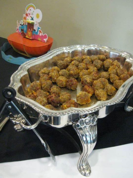 Sharp Cheddar Sausage Balls