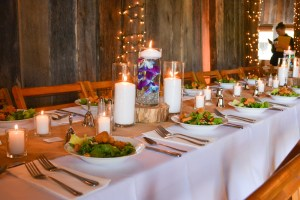 Rustic Barn Knoxville, TN Wedding Catering