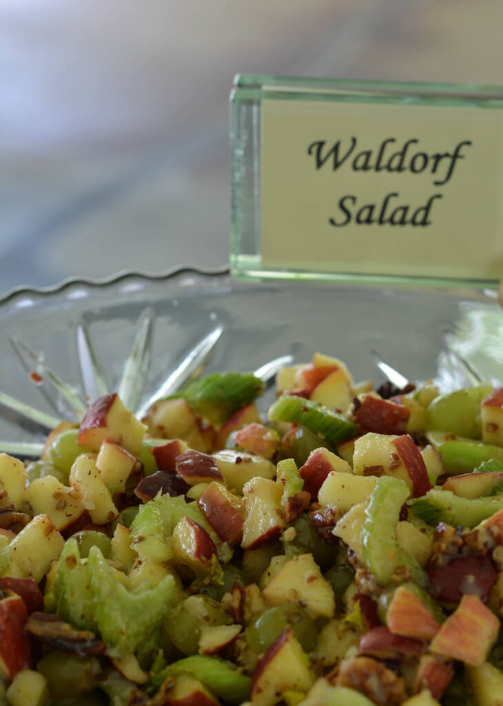 Knoxville Wedding Catering, Waldorf Salad