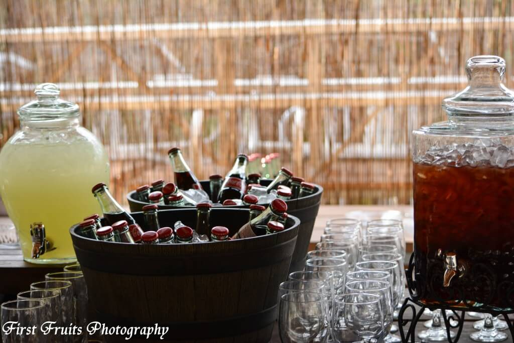 First Fruits Catering Beverage Station
