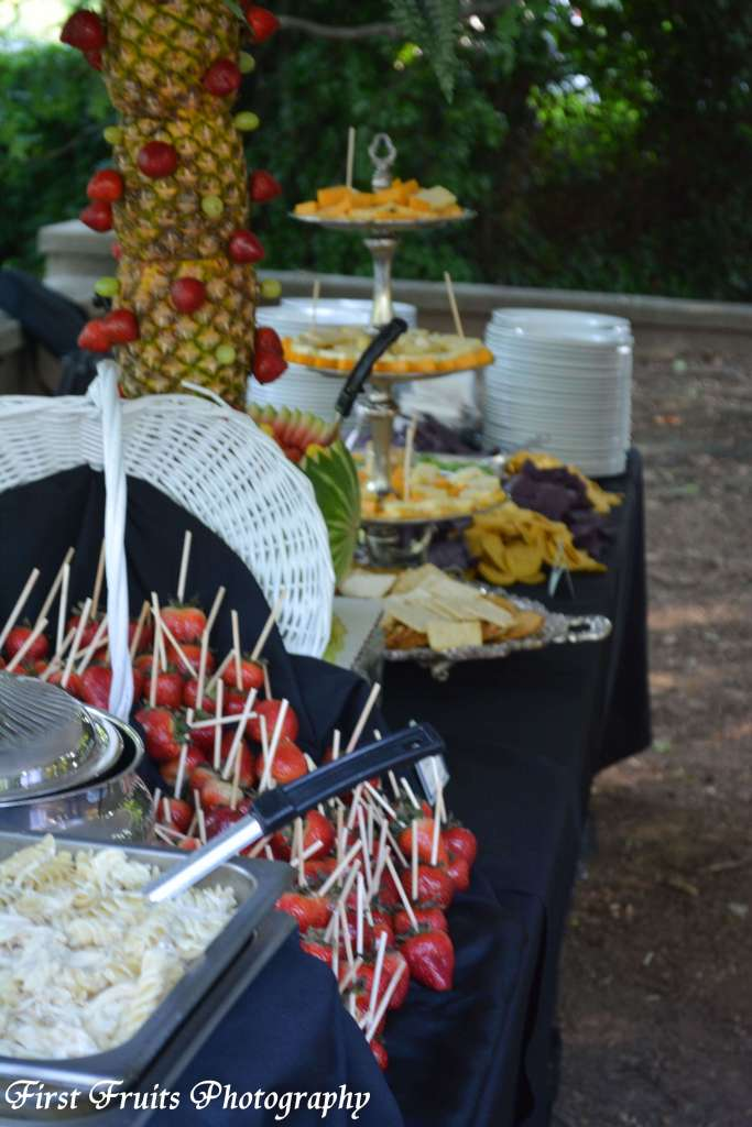 Heavy Hor D oeuvre Buffet, Knoxville Catering, First Fruits Catering, The Bleak House