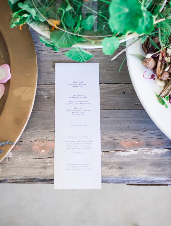 Pop up summer dinner event with First Fruit Table. Whole foods and banquet dining style food. Celebration dinner event.