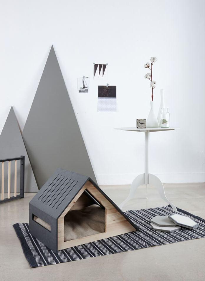 Modern Scandinavian style pet house ideas