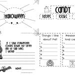 Halloweenish Writing Freebie