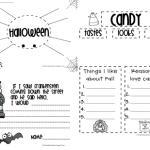 Halloweenish Writing Freebie