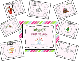 Holidays Around the World Freebie and Linky Party with TBA