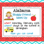 AL Blogger Meet Up Announcement! Currently..and a Thank You!
