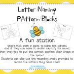 Pattern Block Letter Naming