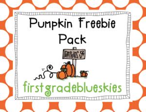 Pumpkin Freebies!