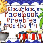Kinderland's Freebies on the Fourth!