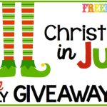 Freebielicious Christmas in July Giveaway Hop