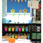 First Grade Blue Skies Classroom Reveal 2013!