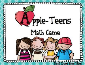 Appleteens! Free Math Game to Practice Teen Numbers