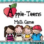 Appleteens! Free Math Game to Practice Teen Numbers