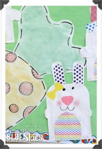 Hoppy Spring {Simple Bunny Glyph}