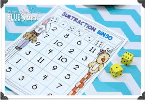 Easter and Spring Just Add Dice Math Games