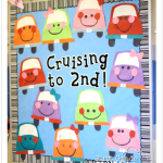 Cruisin' to Summer! End of the Year Bulletin Board Craftivity