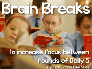 Daily 5 {Second Edition} FREEBIE and Book Study