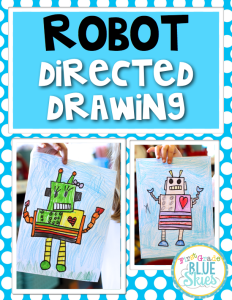 Robot Directed Drawing FREEBIE