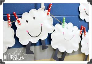 Weather Freebie: Happy, Fluffy Clouds!
