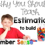 Estimation: Making Sense of Math Linky Week: 5