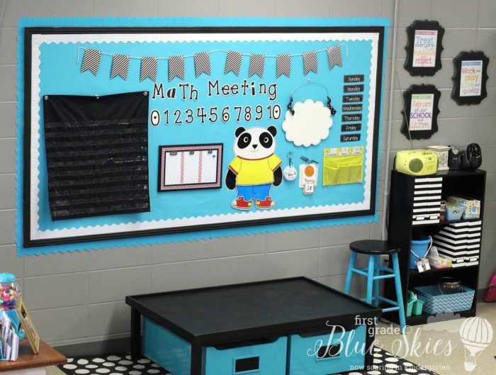 Math Meeting Area Photos