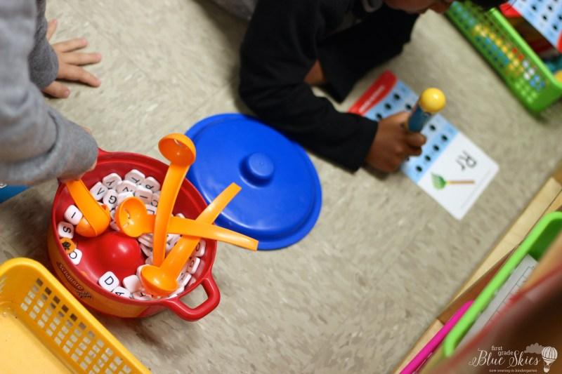 letter practice kindergarten