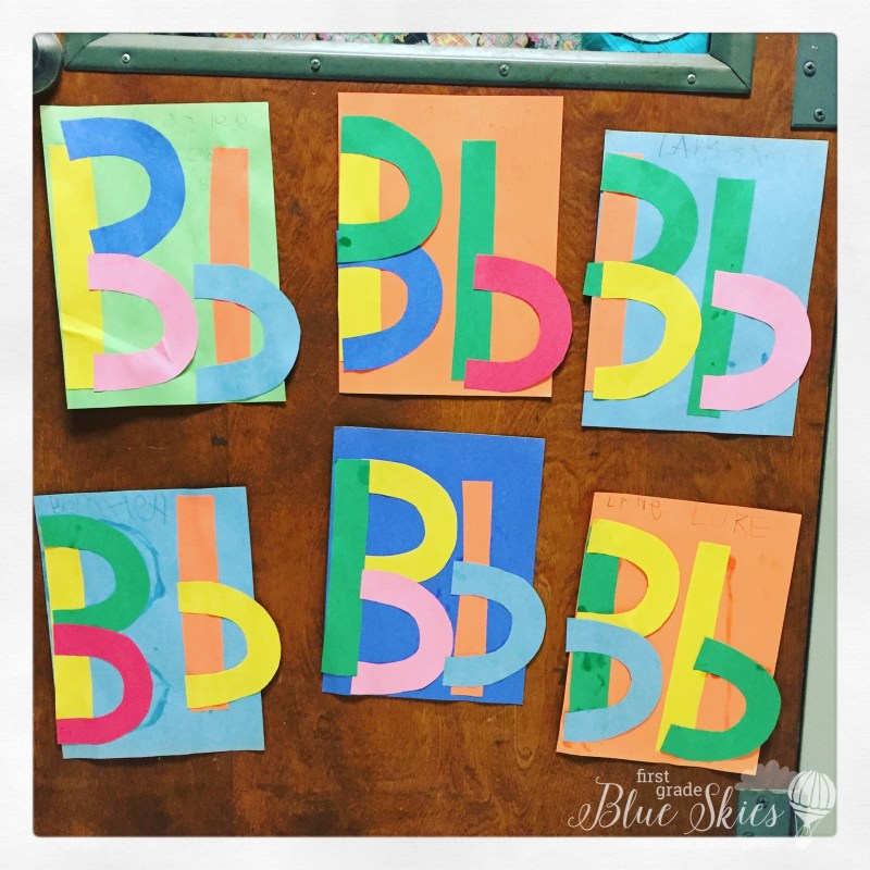 Letter B craft