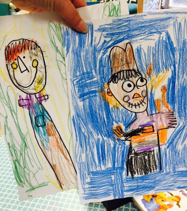 scarecrow draw