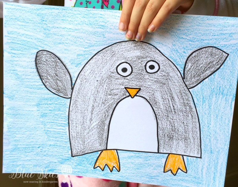 Penguin Directed Drawing